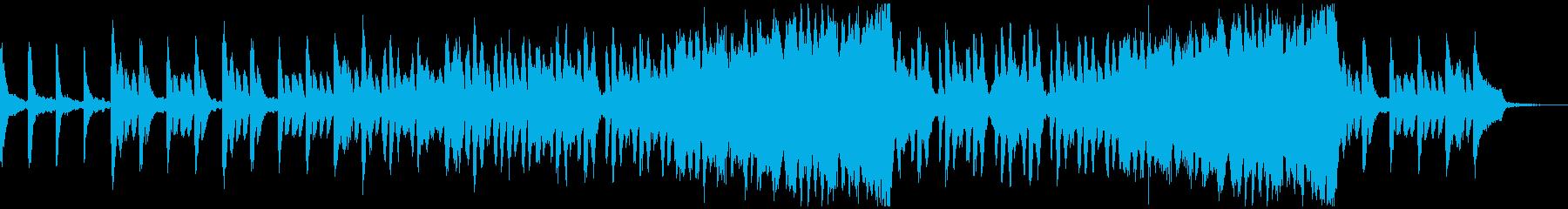 不気味な音世界に鈍感で心強いトランペットの再生済みの波形