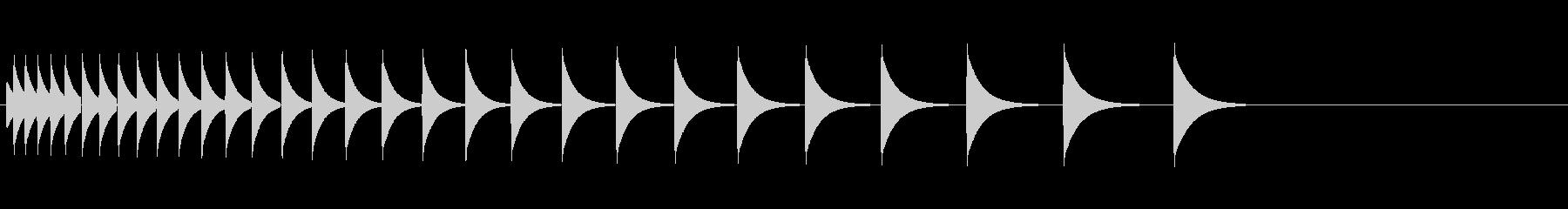 KANTクリックスクロール効果音2083の未再生の波形