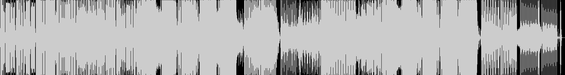 南国風ハウス2の未再生の波形