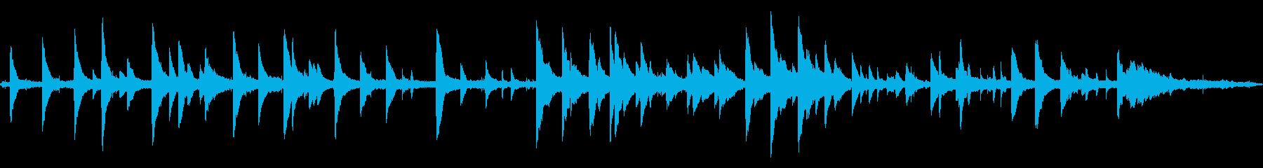 海とピアノの再生済みの波形