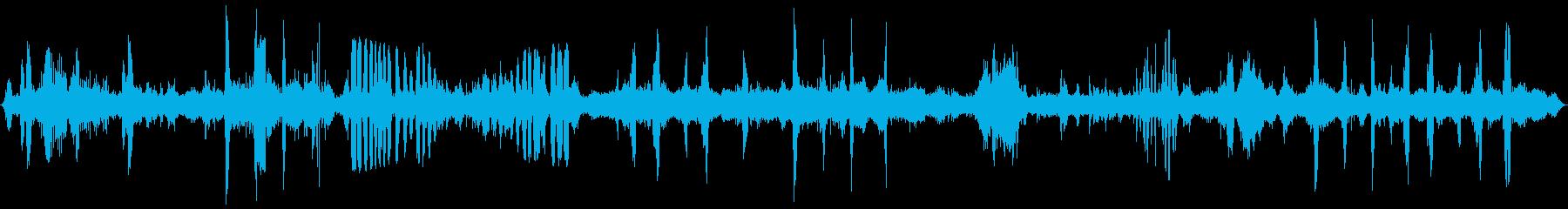 クジラのグループ:さまざまなクジラ...の再生済みの波形