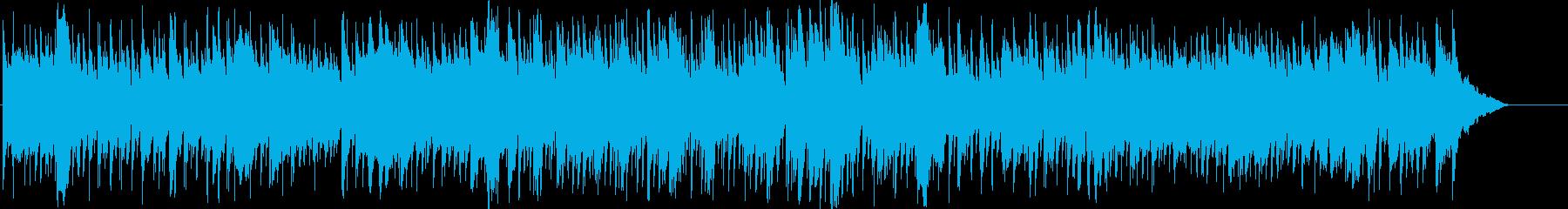 クラシックをアレンジしたスローフォックスの再生済みの波形