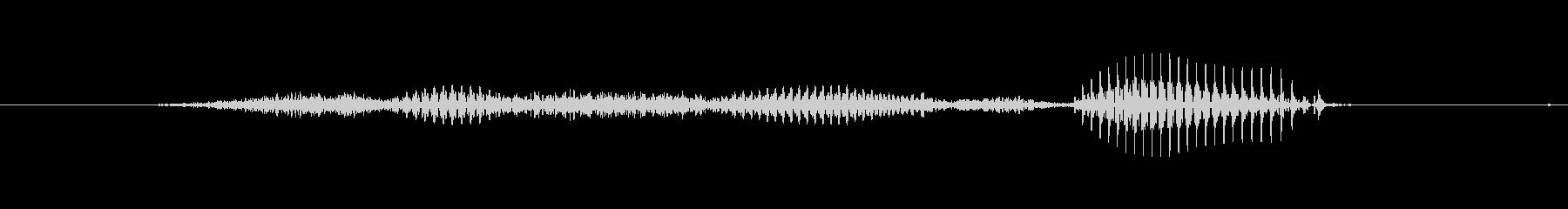【星座】獅子座の未再生の波形