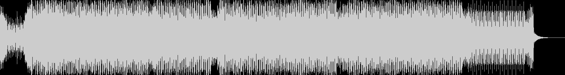 bpm135のダンスミュージックの未再生の波形