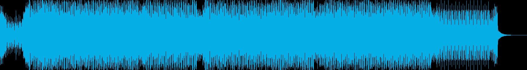 bpm135のダンスミュージックの再生済みの波形