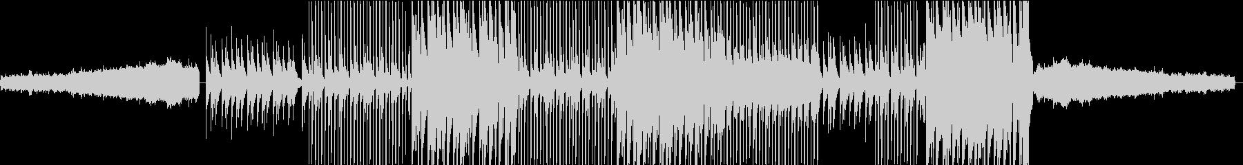 非常にアグレッシブなシンセリードを...の未再生の波形