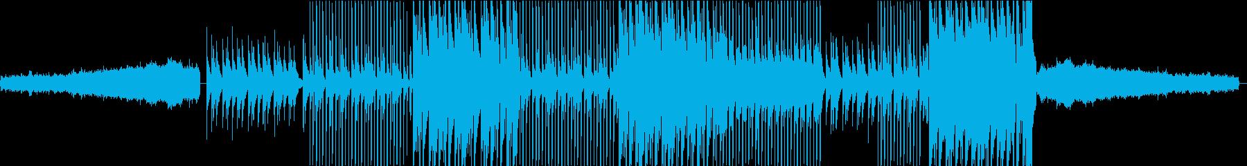 非常にアグレッシブなシンセリードを...の再生済みの波形
