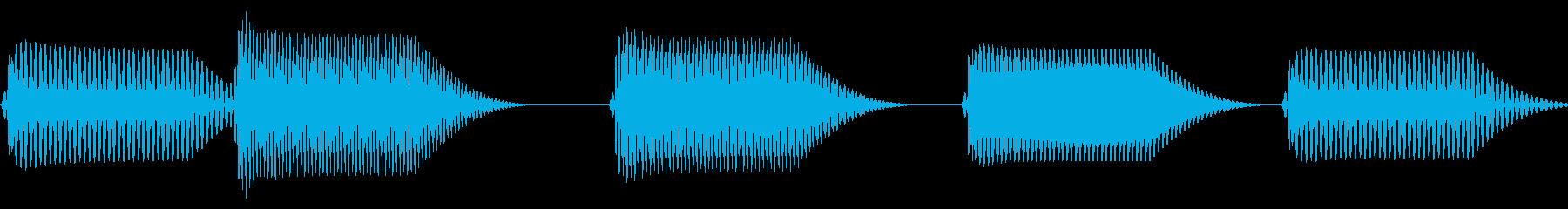 往年のRPG風 コマンド音 シリーズ 5の再生済みの波形