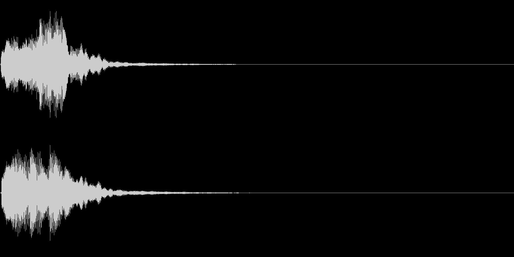 キラリン音A8 2音色×8フレーズの未再生の波形