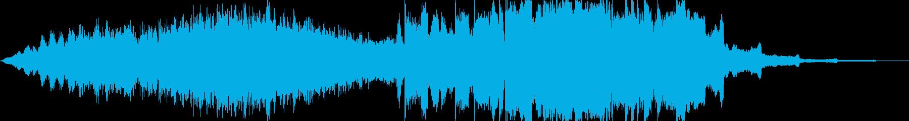 動画 技術的な 説明的 クール ア...の再生済みの波形