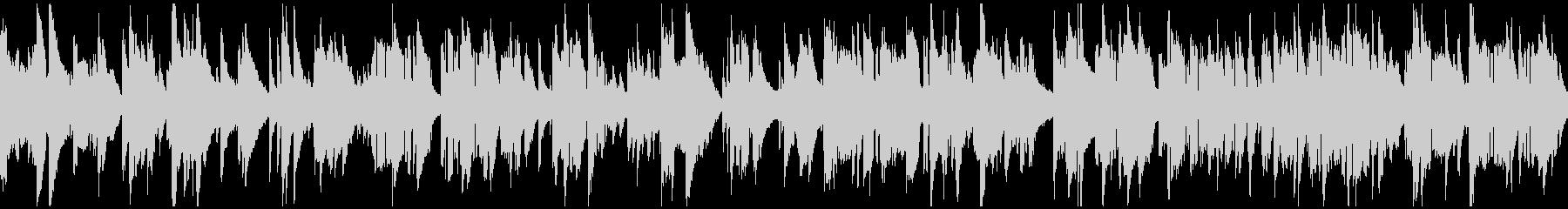 ムードたっぷりな生演奏サックス※ループ版の未再生の波形