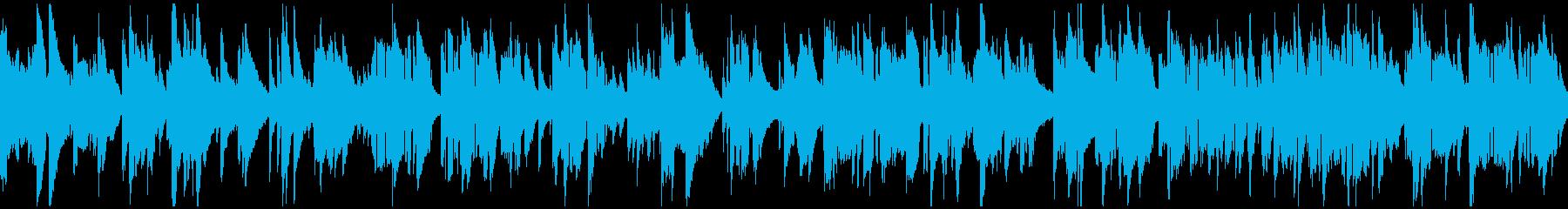 ムードたっぷりな生演奏サックス※ループ版の再生済みの波形