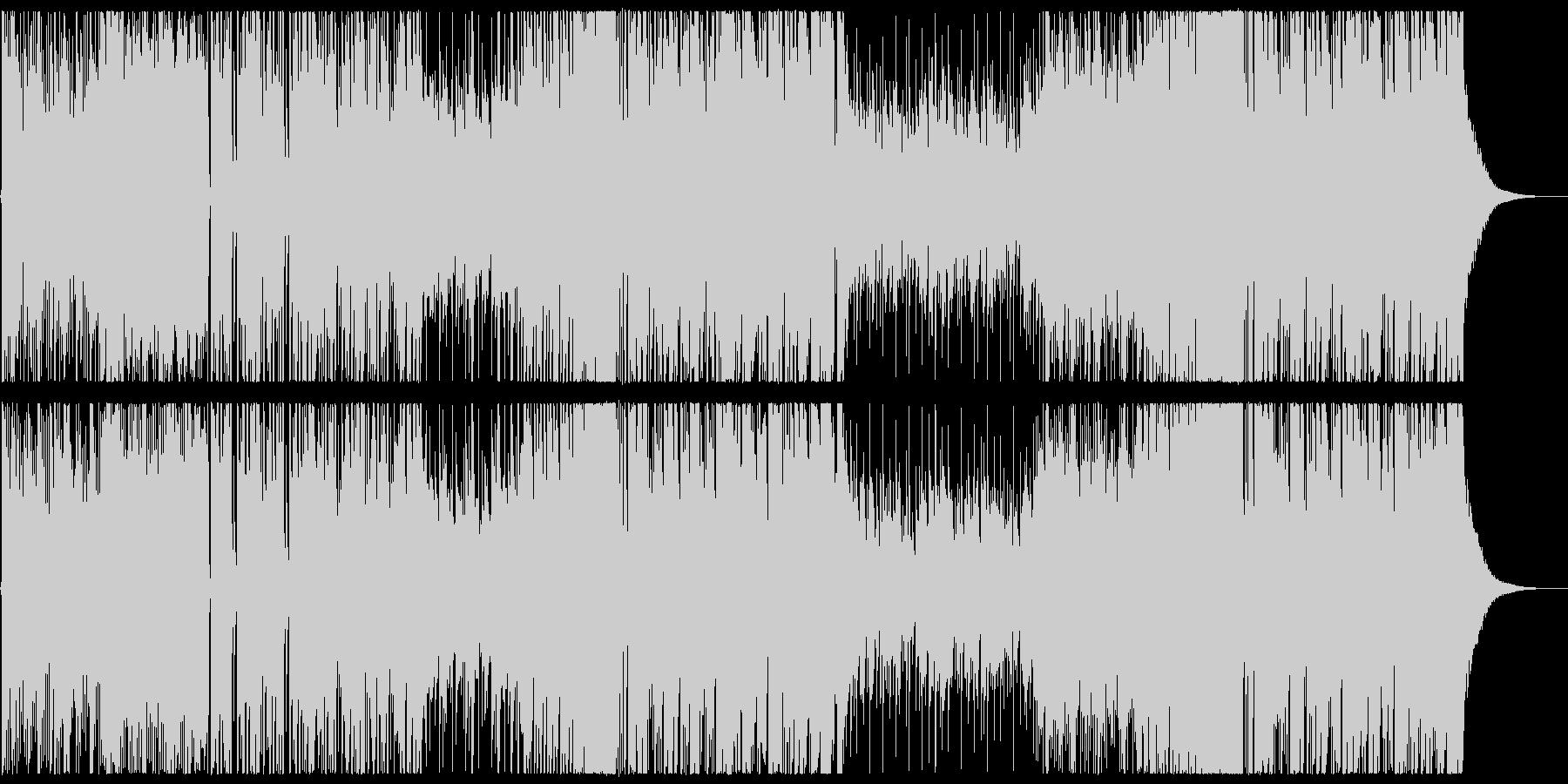 キラキラで爽やかなFuture Bassの未再生の波形