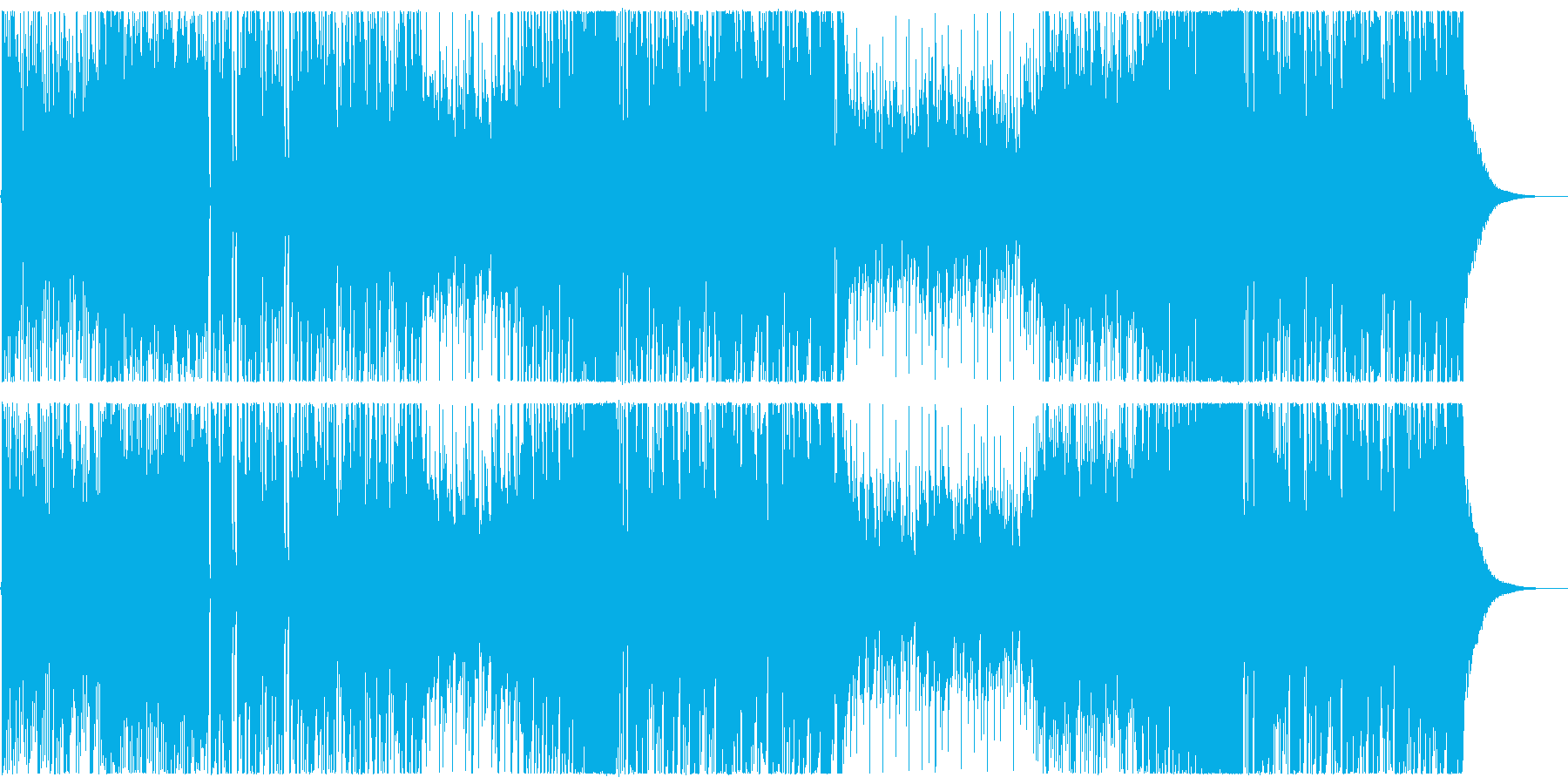 キラキラで爽やかなFuture Bassの再生済みの波形