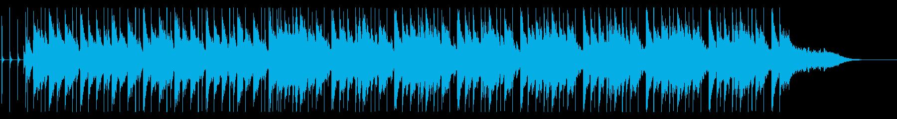 切ない雰囲気のバラードの曲の再生済みの波形