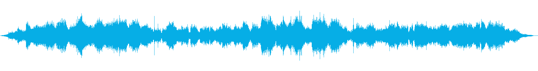 0〜40を通過する戦車の再生済みの波形