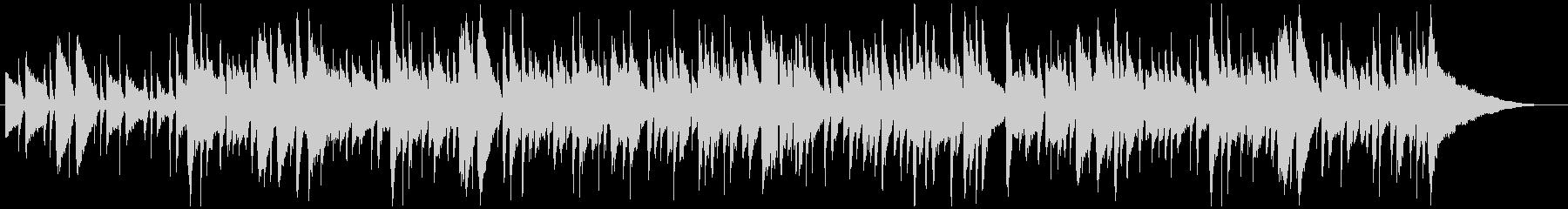 アコースティックギターのシンプル曲生演奏の未再生の波形