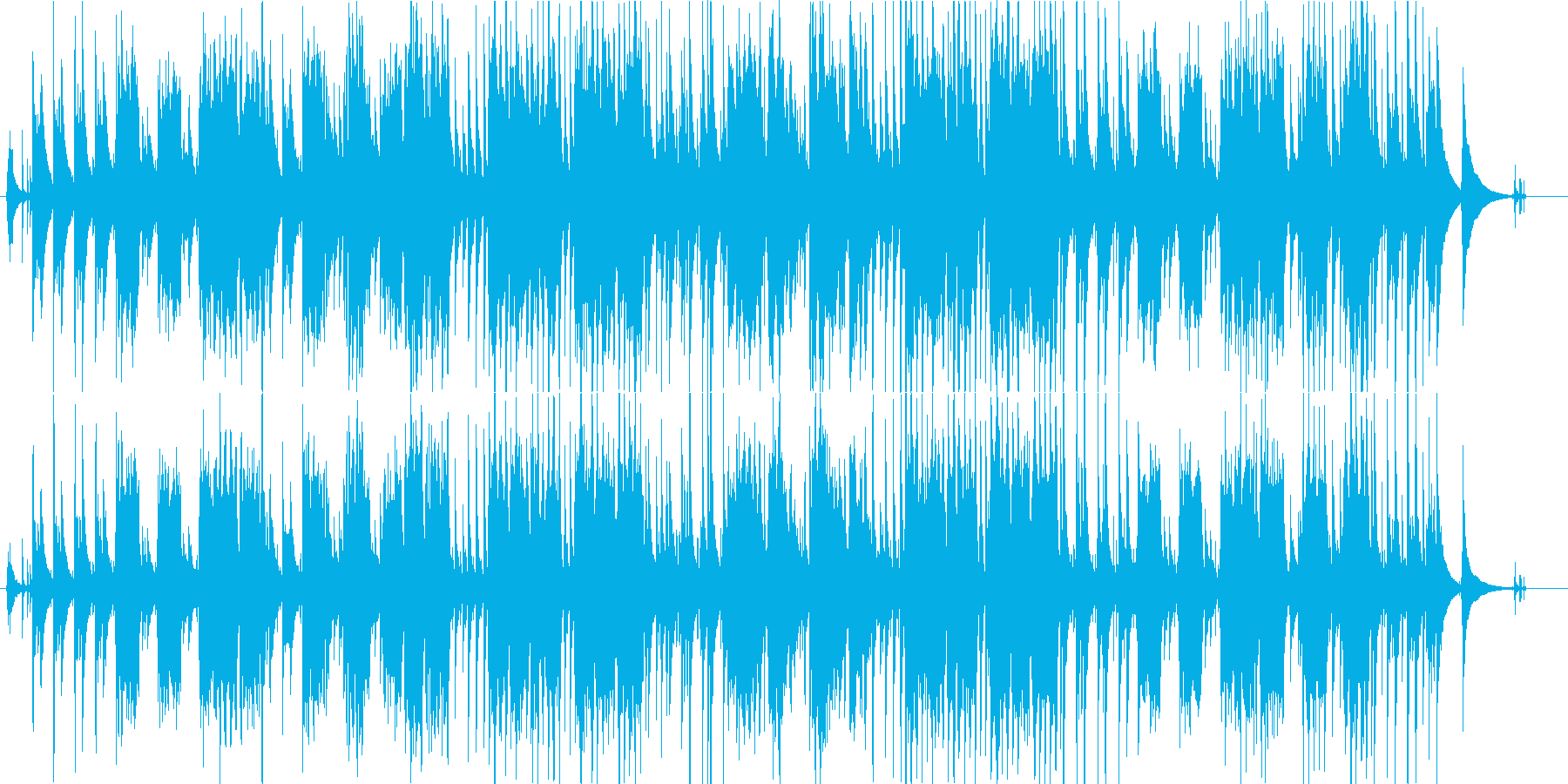 Mayの再生済みの波形