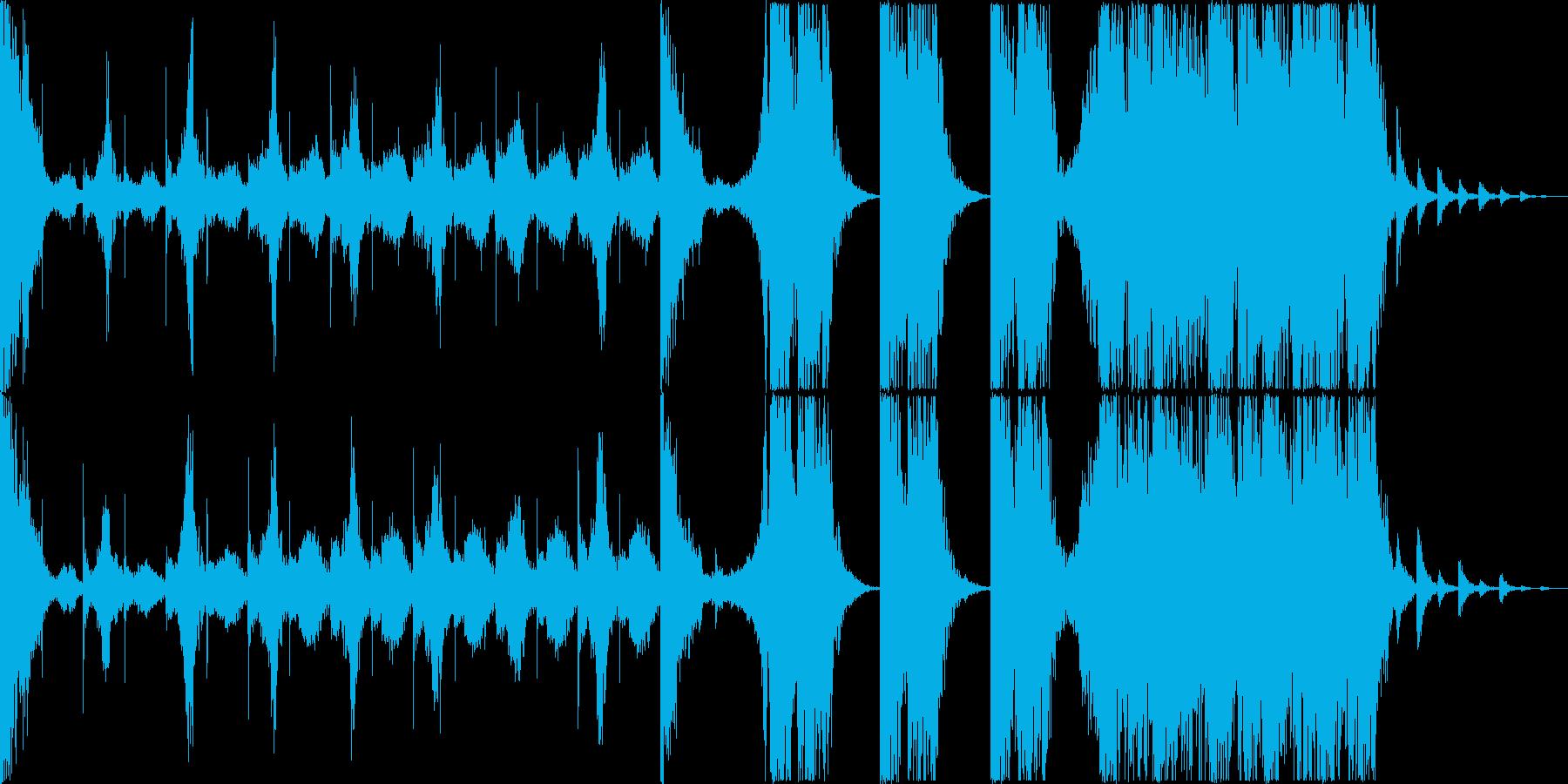時計~打楽器 <トレーラーetc>の再生済みの波形