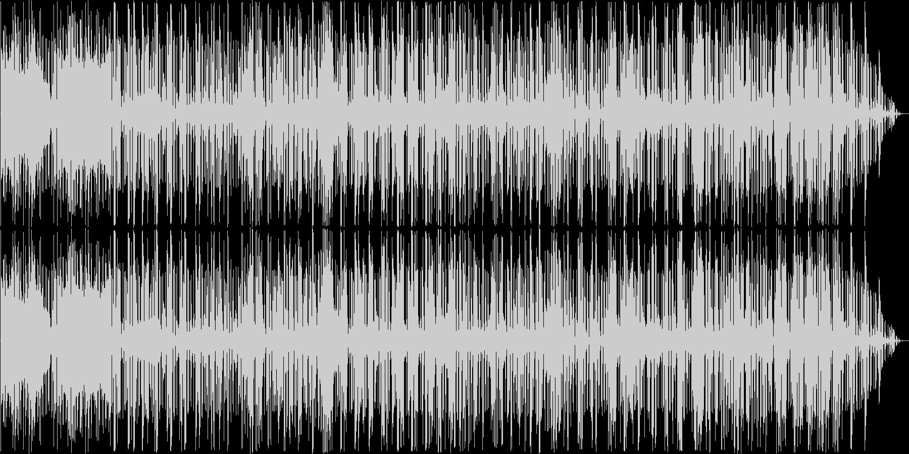 ジャズとファンク。サックス、ベース...の未再生の波形