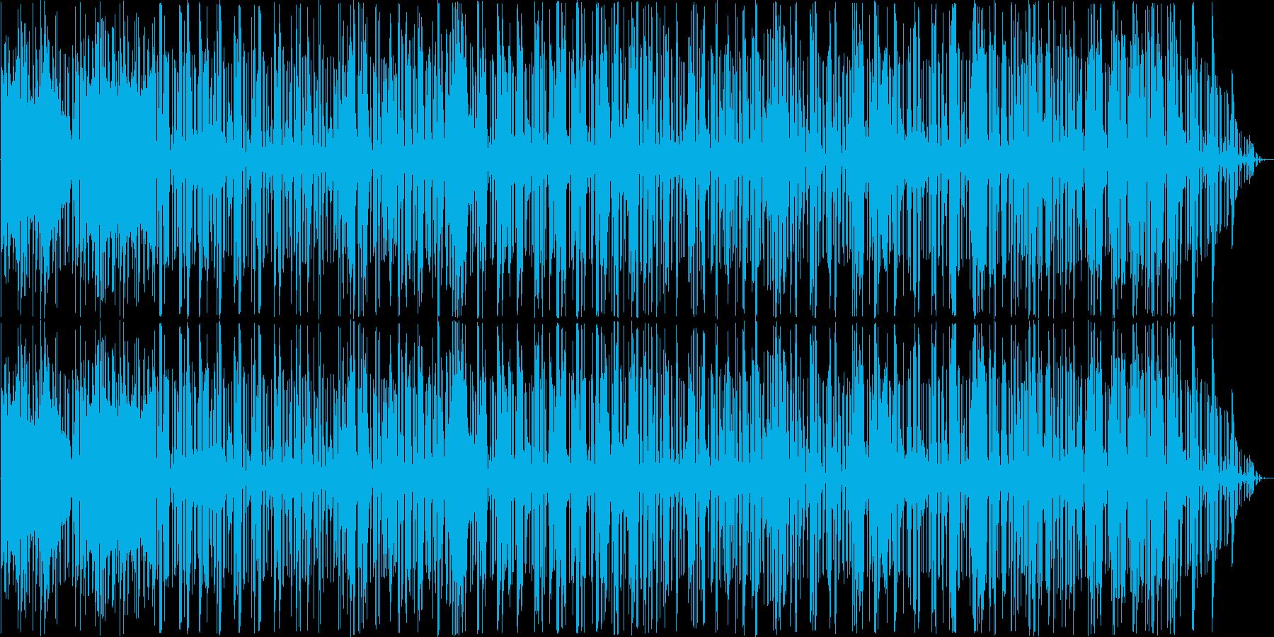 ジャズとファンク。サックス、ベース...の再生済みの波形
