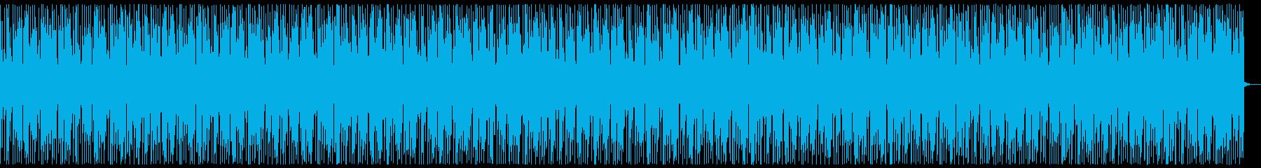 アップテンポでダンサブルなナンバーの再生済みの波形
