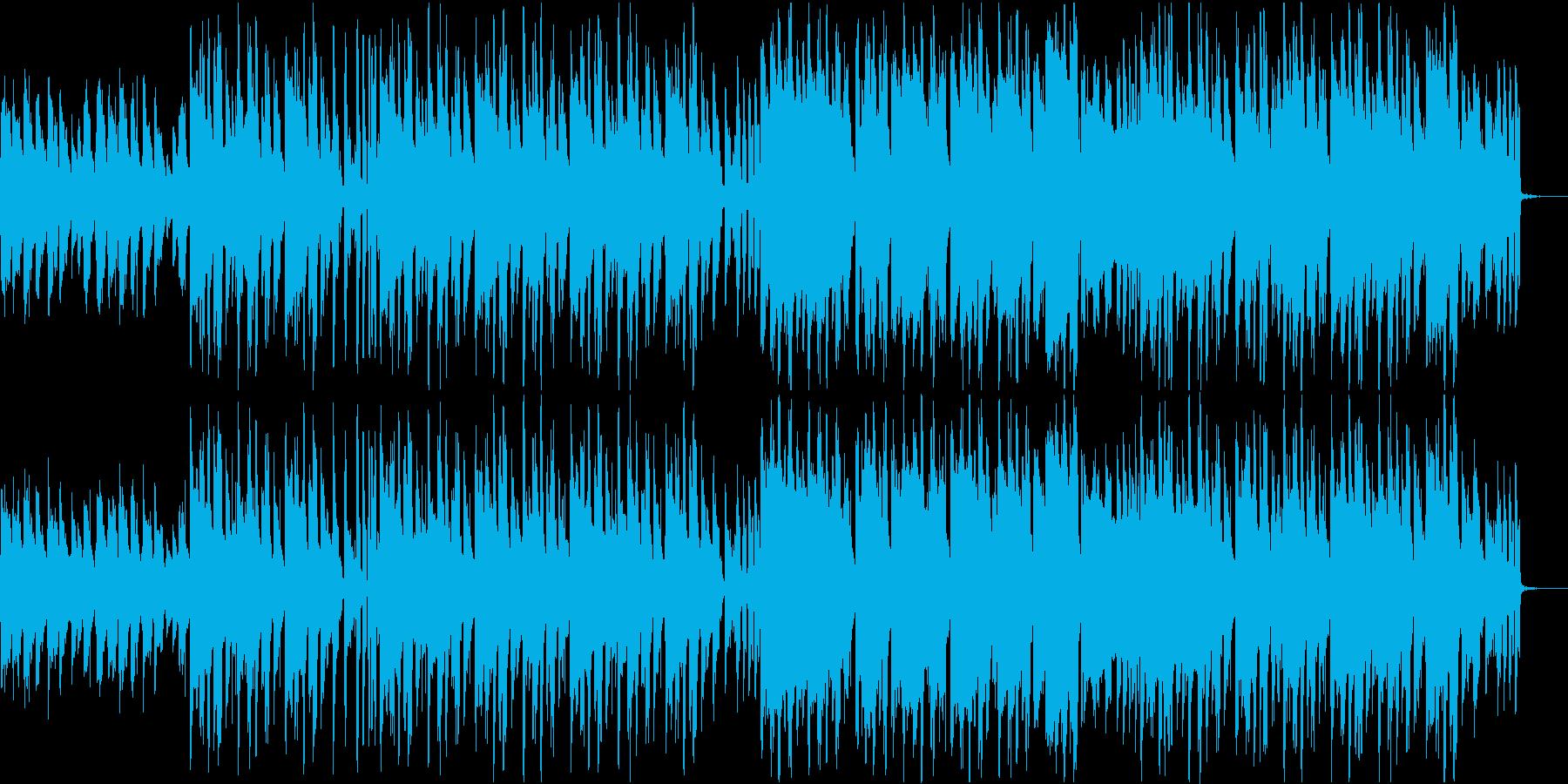 ゆったりLo-Fiサウンド+和楽器の再生済みの波形