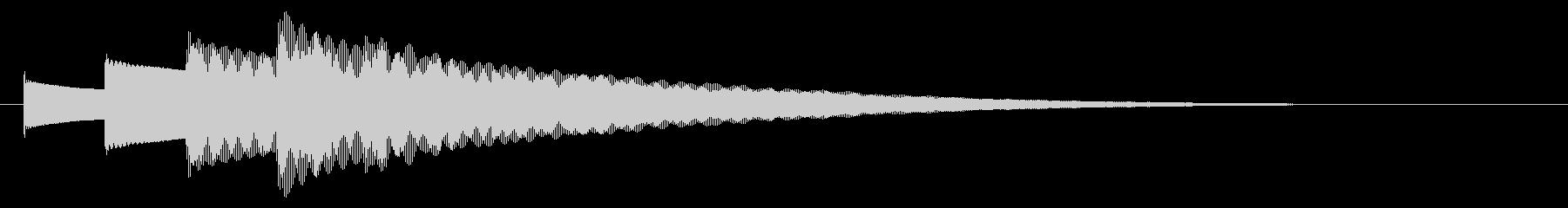 チャイム アナウンス09-2(5点 速いの未再生の波形