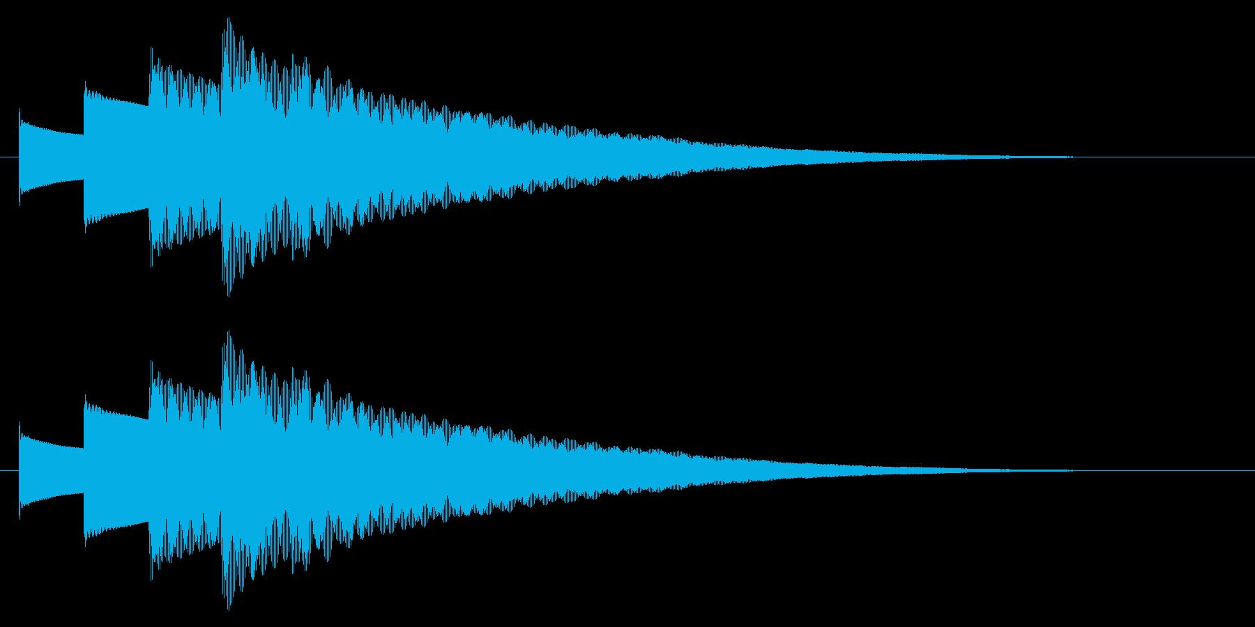 チャイム アナウンス09-2(5点 速いの再生済みの波形