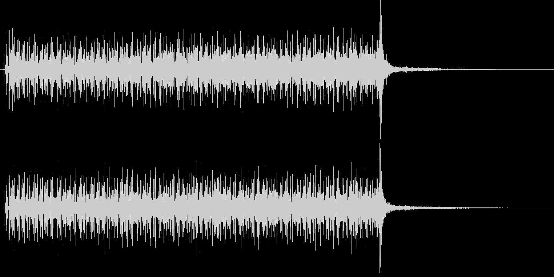 報道番組で使えるクールなサウンドの未再生の波形