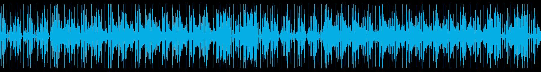 ギターが特徴的なファンク調ロックの再生済みの波形