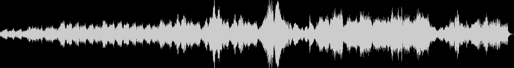 小オーケストラ ミステリアス ループ版の未再生の波形