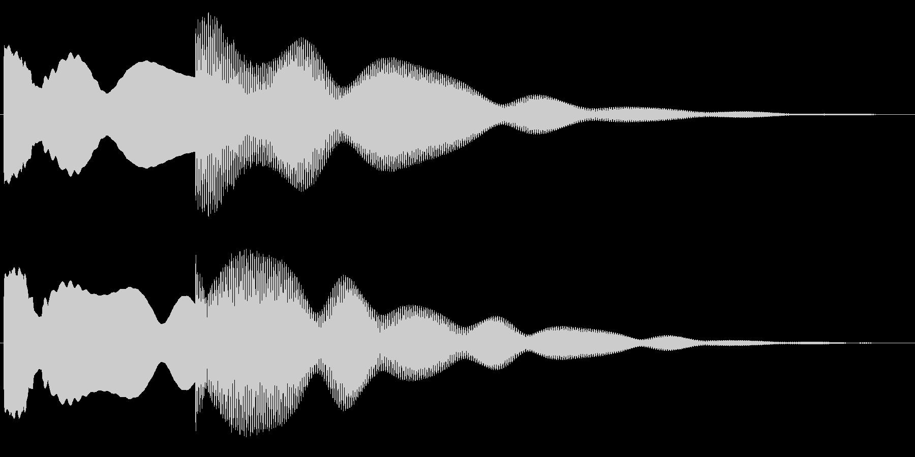 玄関、チャイム(ピンポーン)1の未再生の波形