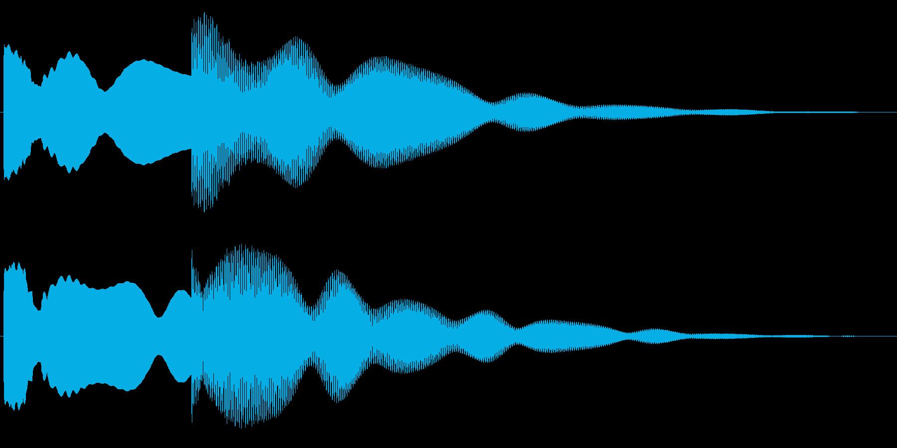 玄関、チャイム(ピンポーン)1の再生済みの波形
