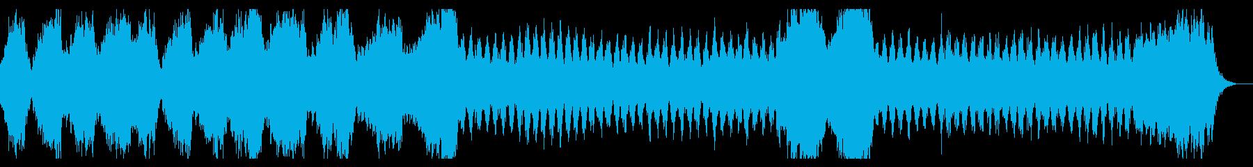ダークな宇宙空間 異次元 ミステリアスの再生済みの波形