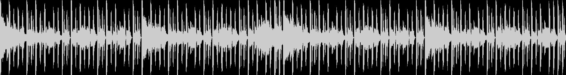 スタイリッシュなBGMループ仕様の未再生の波形