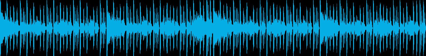 スタイリッシュなBGMループ仕様の再生済みの波形
