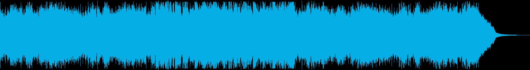 オープニング・おしゃれな洋楽EDMの再生済みの波形