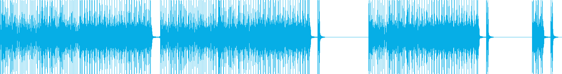 軽やかで元気な心地よいポップサウンドの再生済みの波形