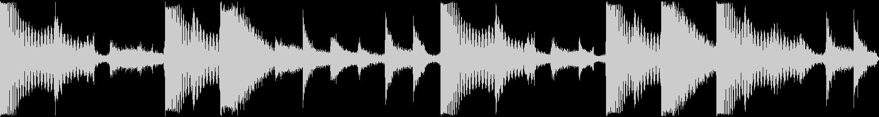 ドンドコドラムの未再生の波形