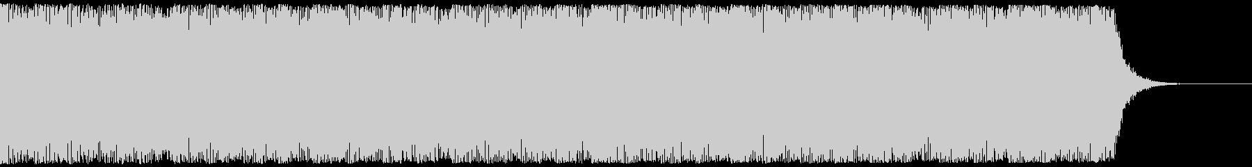 SFホラー、バイオレンスホラー映像の未再生の波形
