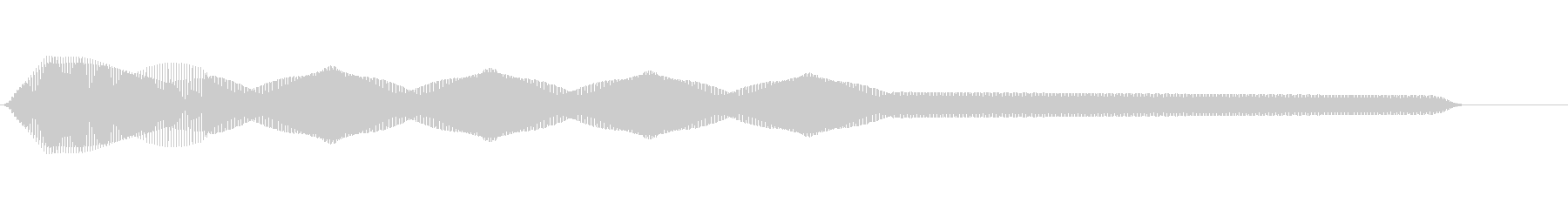 ピコーン(レーザー光線/SF/SNES)の未再生の波形