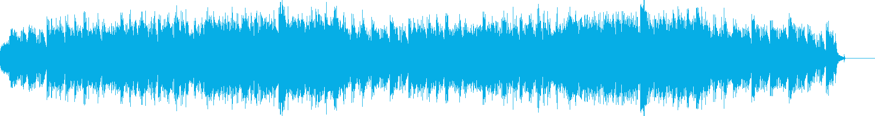 神聖な場所のイメージBGMの再生済みの波形