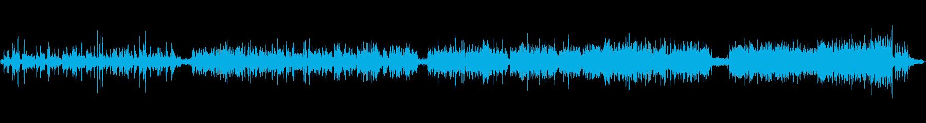 民族楽器平和のイメージの再生済みの波形
