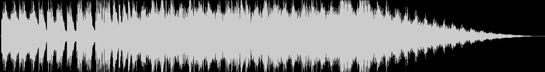 森で彷徨うような幻想的なピアノBGMの未再生の波形