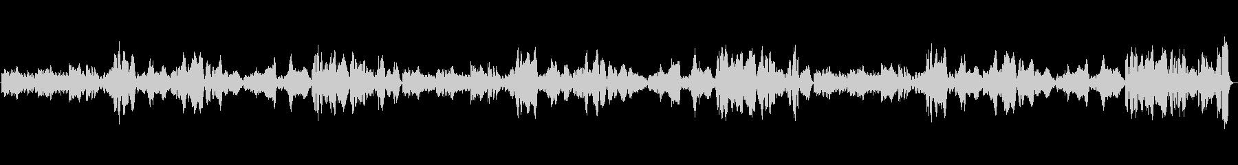 郷愁ただようナポリ民謡『ナポリの歌』の未再生の波形