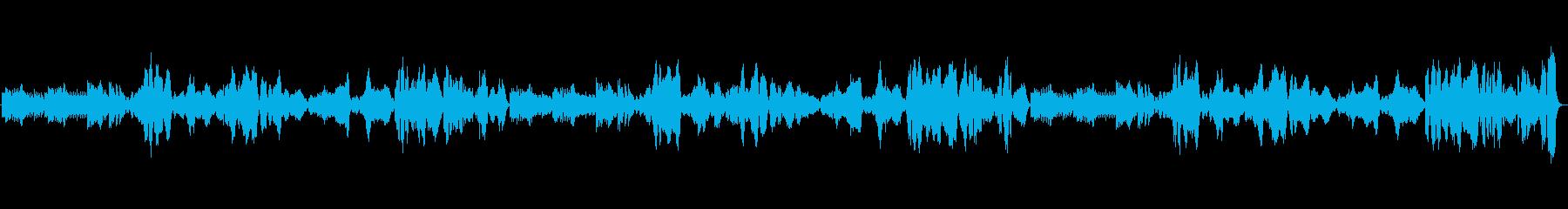 郷愁ただようナポリ民謡『ナポリの歌』の再生済みの波形