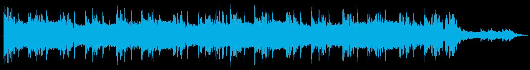 大会エンディングヒップホップ弦無し30秒の再生済みの波形