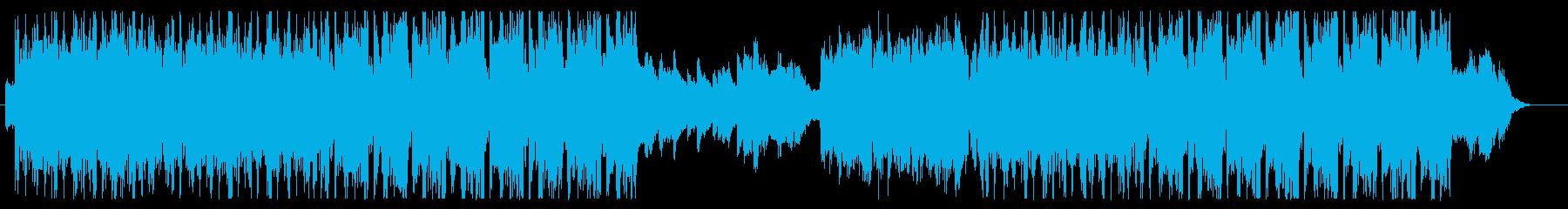 ゲームのキャラクターなど回転しながら紹介の再生済みの波形