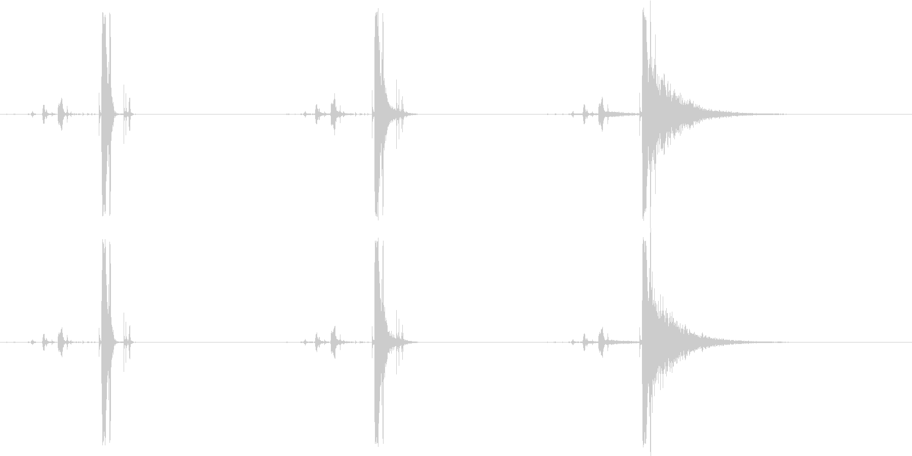 オープニング、クロージング、ボック...の未再生の波形